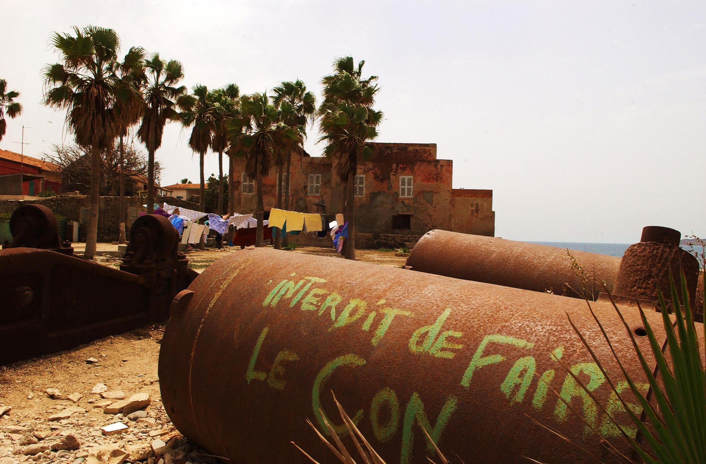 Sénégal, île de Gorée graffiti