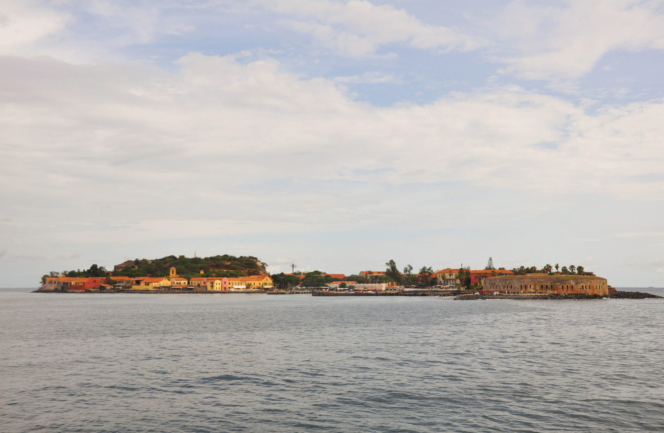 Sénégal, île de Gorée plan large