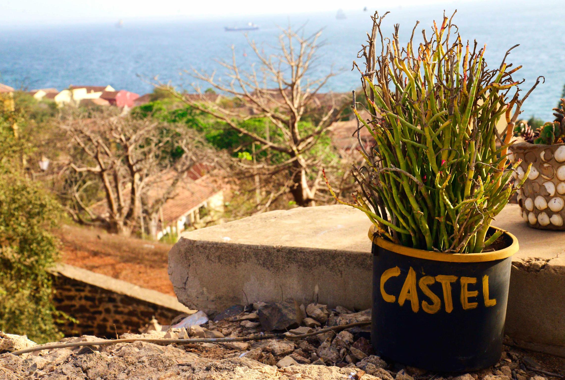 Sénégal, île de Gorée Castel