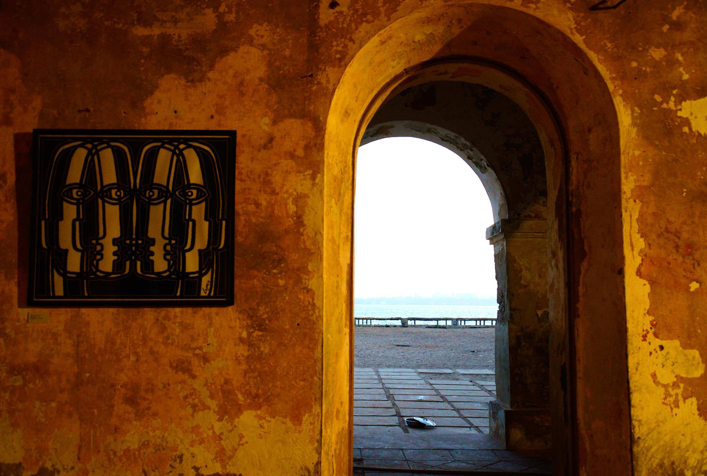 Sénégal, île de Gorée porte