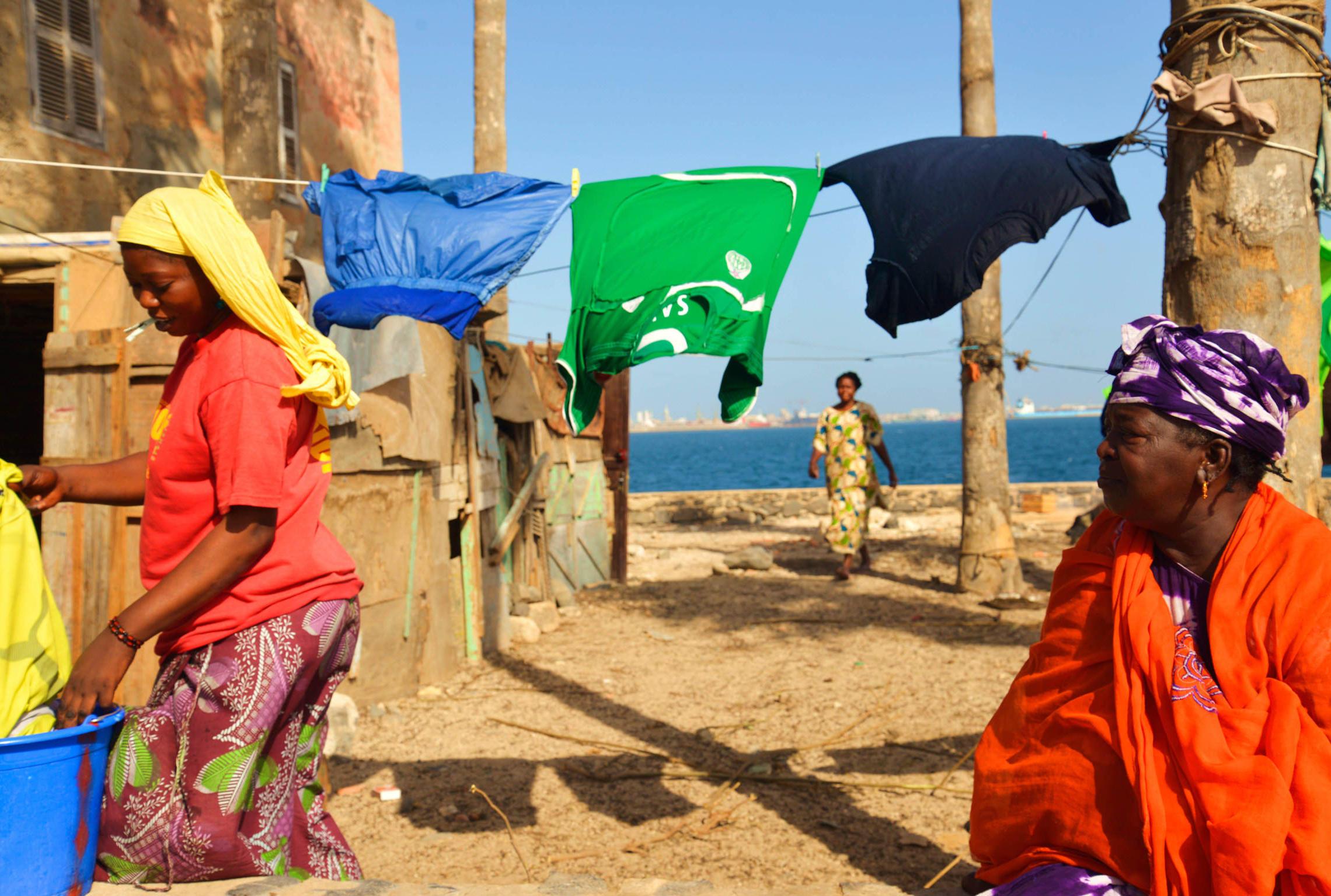 Sénégal, île de Gorée femmes