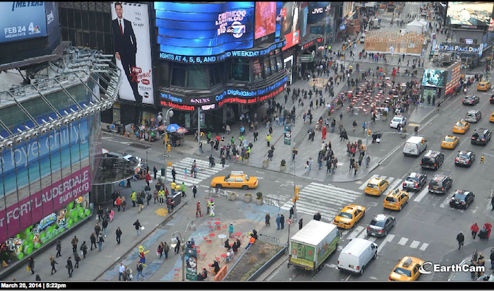 earthcam times square