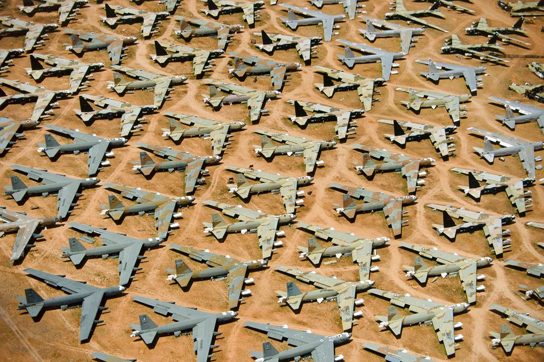 B-52 'Boneyard', Tucson, Ariz., 1993.
