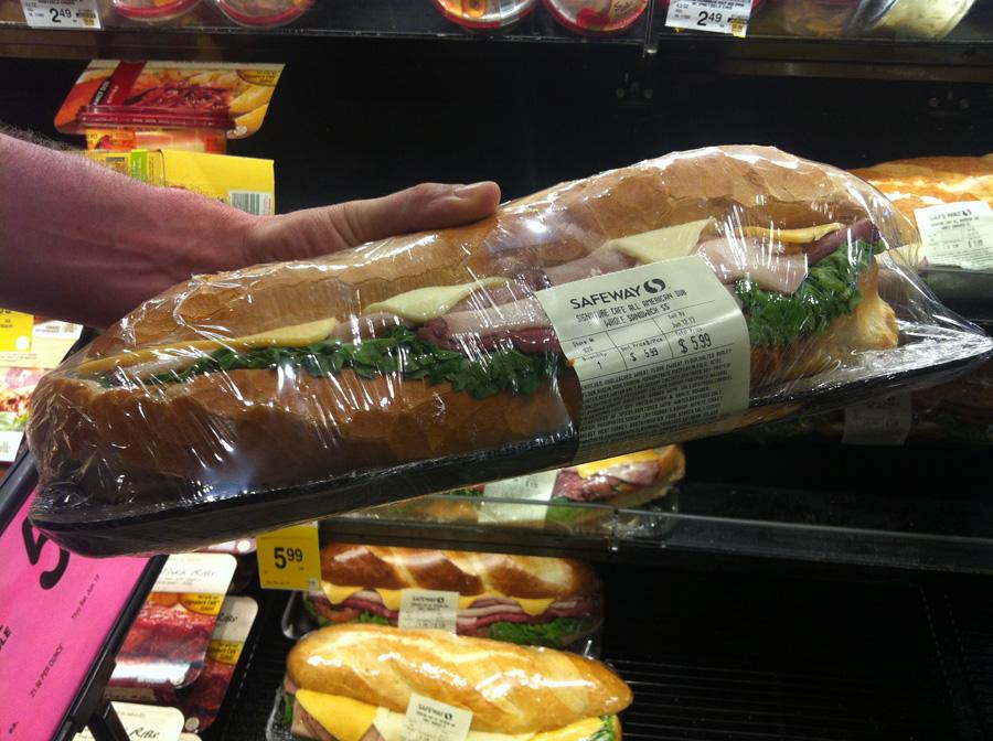 supermarche este park sandwich