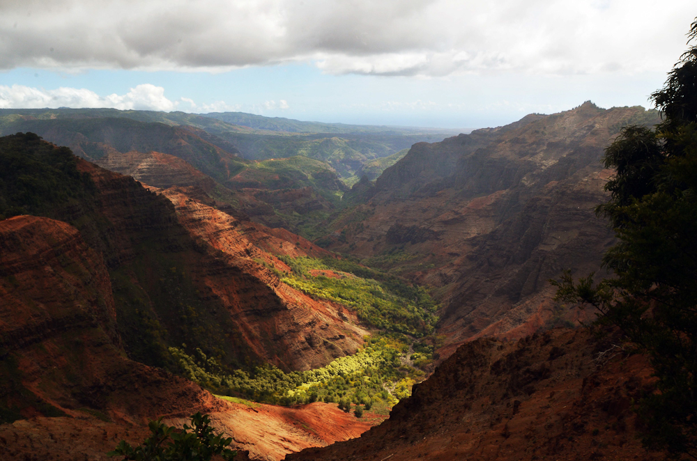 Waimea Canyon hawai ile de kauai