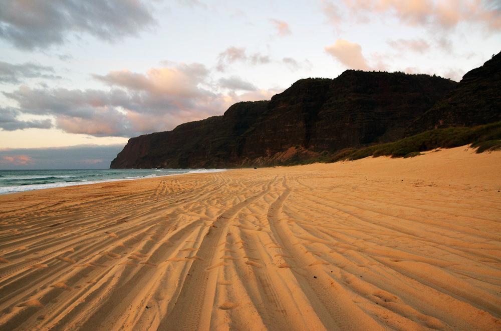 Plage Polihale Beach Hawai
