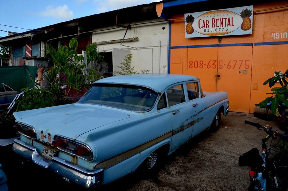 Paradise car rental hawai kauai location de voitures