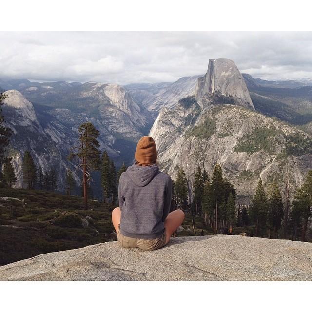 Yosemite trekking photo forrest mankins