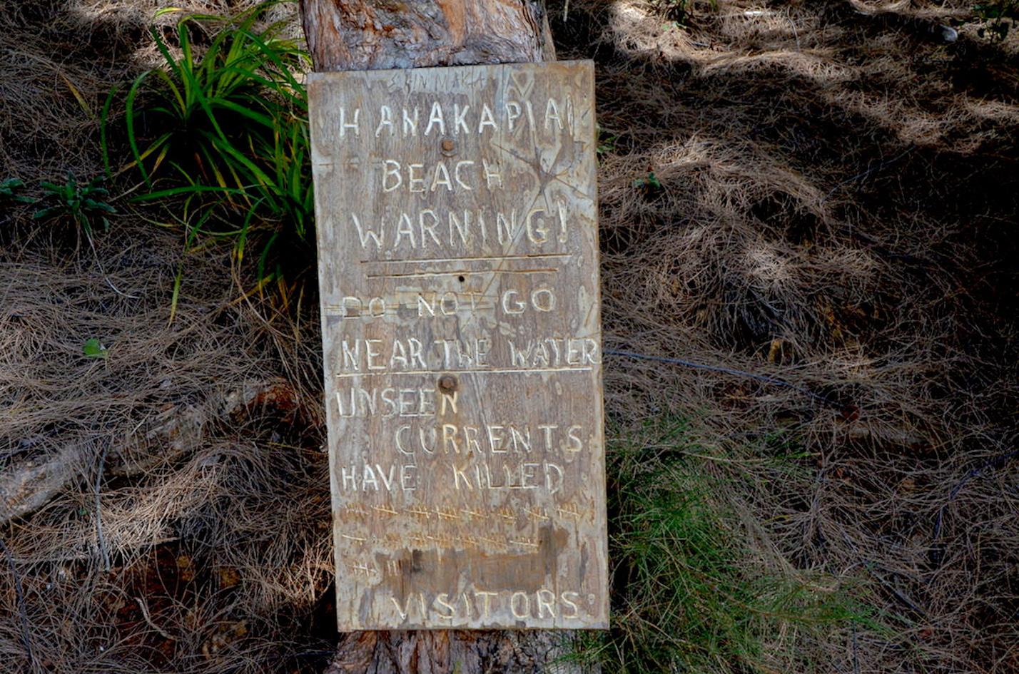 Kanakapiai Beach kauai hawaii