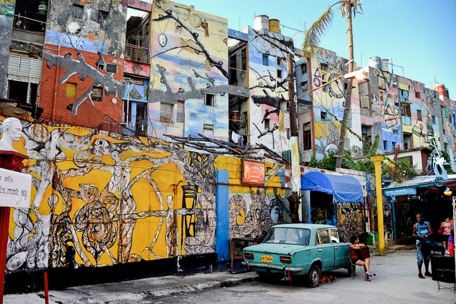 Callejón de Hamel La Havane