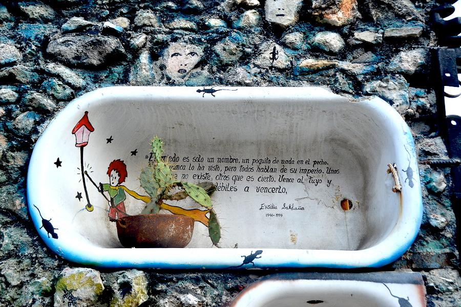 Callejón de Hamel baignoire Cuba