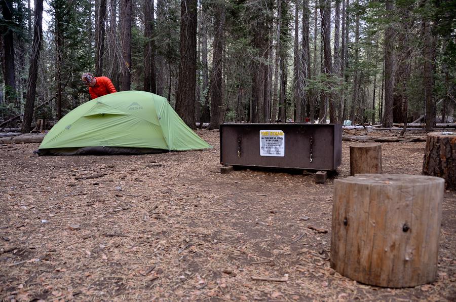 Little Yosemite bivouac rando