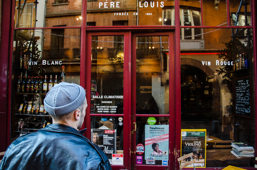 Le Père Louis bar a vins a toulouse