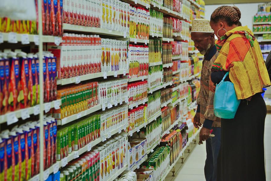Arusha tanzanie supermarché